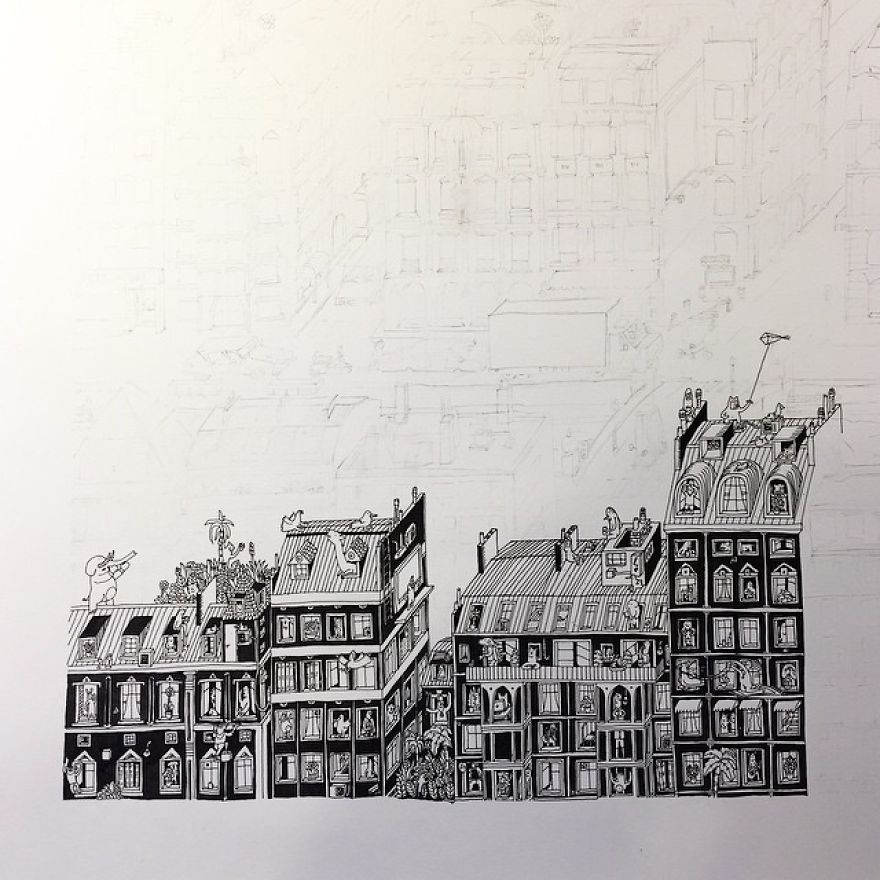 It-Takes-Me-Over-150-Hours-To-Draw-These-Intricate-Cityscape9__880