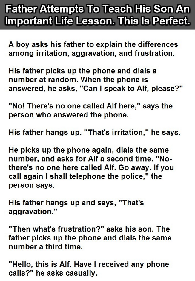 Father teaches a very important lesson to his son quite smartly NEW