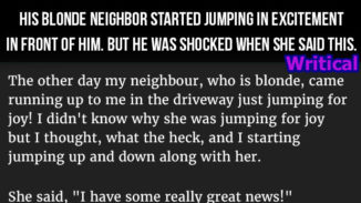 blonde neighbour