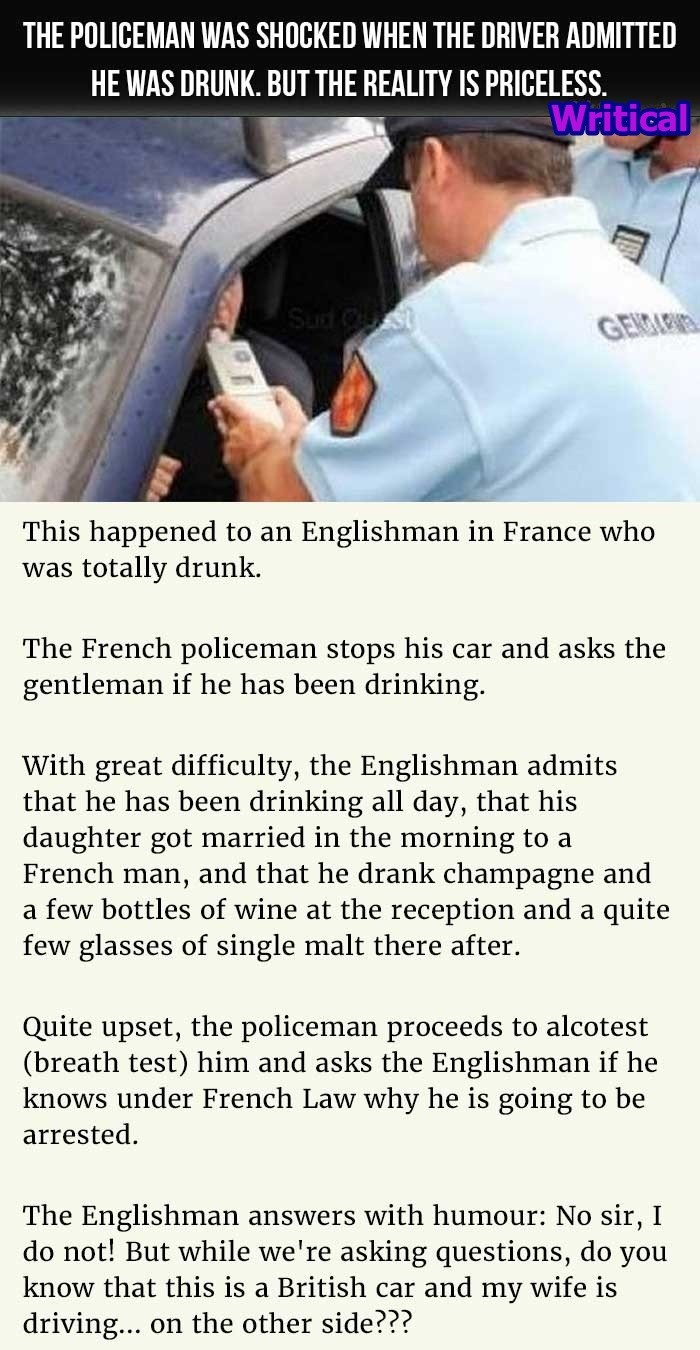 French cop