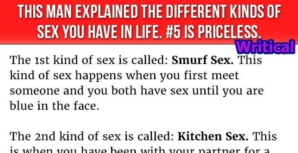 different forms of sex