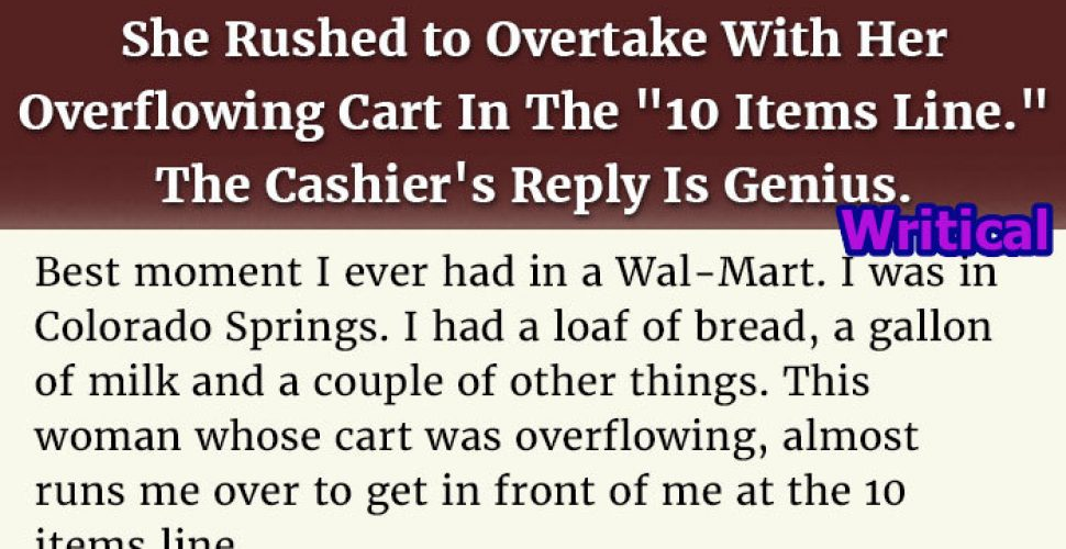 overflowing Cart