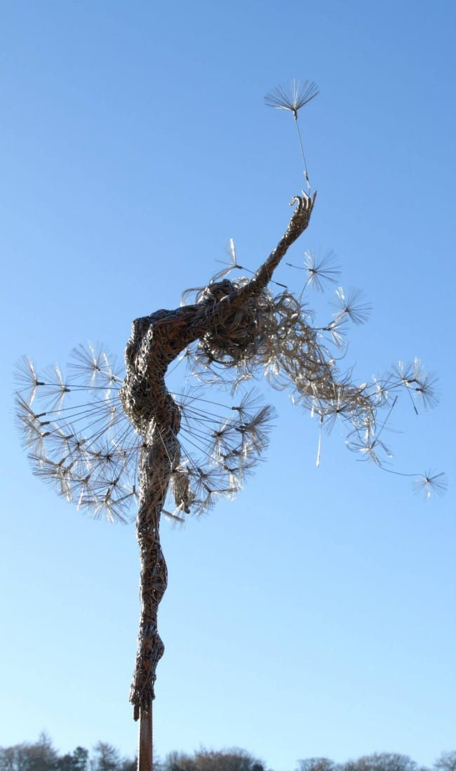 stainless steel wire sculptures