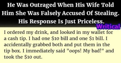Accused of stealing