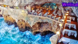 Restaurant built inside a cave