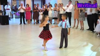 Cute kid dancers