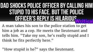 Hilarious police officer