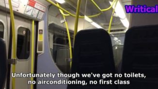 Best train announcement