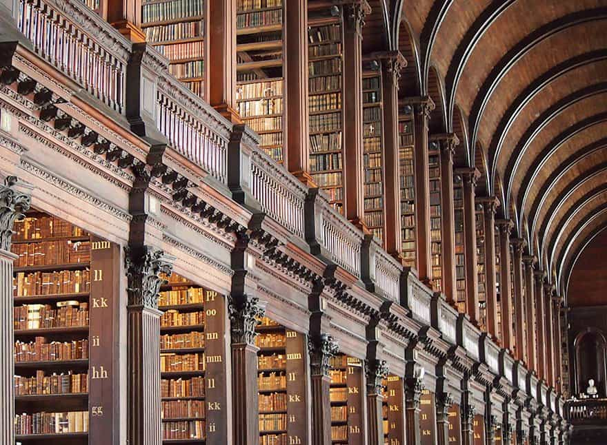 Library chamber in Dublin