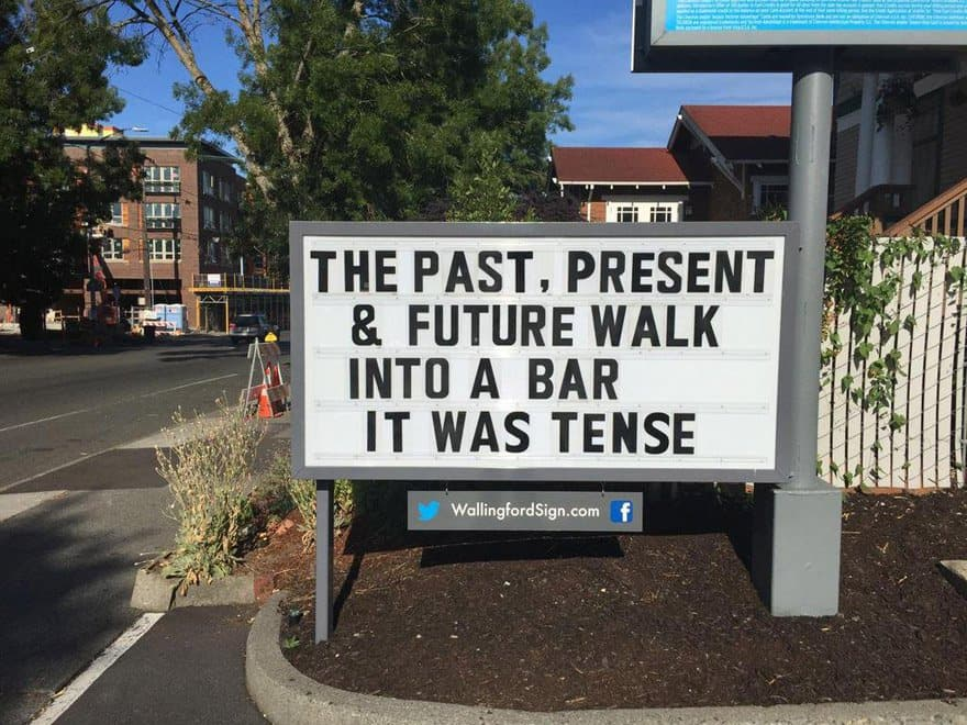 Funniest signs in Seattle