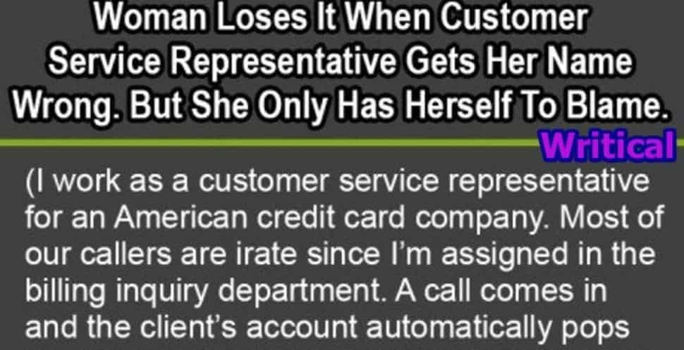 Customer service staff