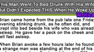 Drunken man gets an unexpected result