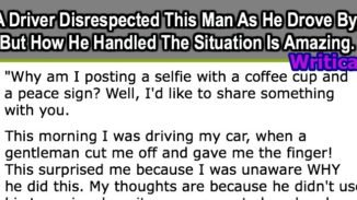 Man disrespected while driving