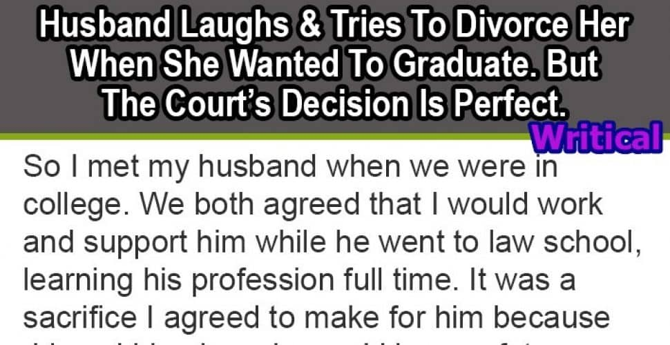 husband laughed