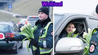 Lithuanian Police Officers on Women's Day