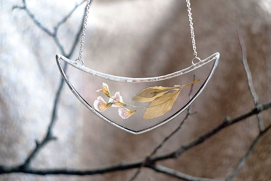 Nature's Beauty in Glass Jewellery