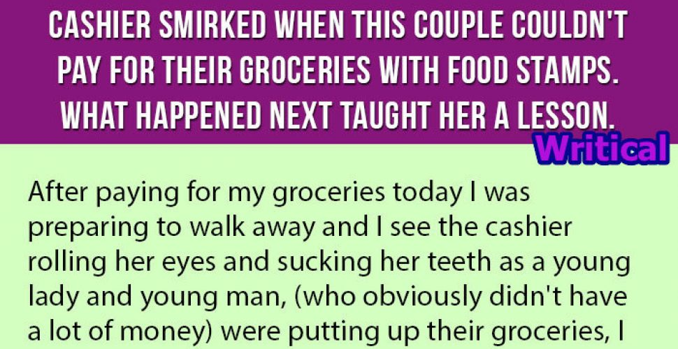 This couple couldn't pay with their food stamps, but this happened