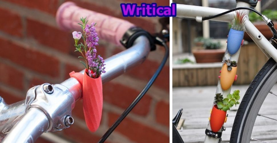 Bicycle Vases, the Perfect Bike Accessory