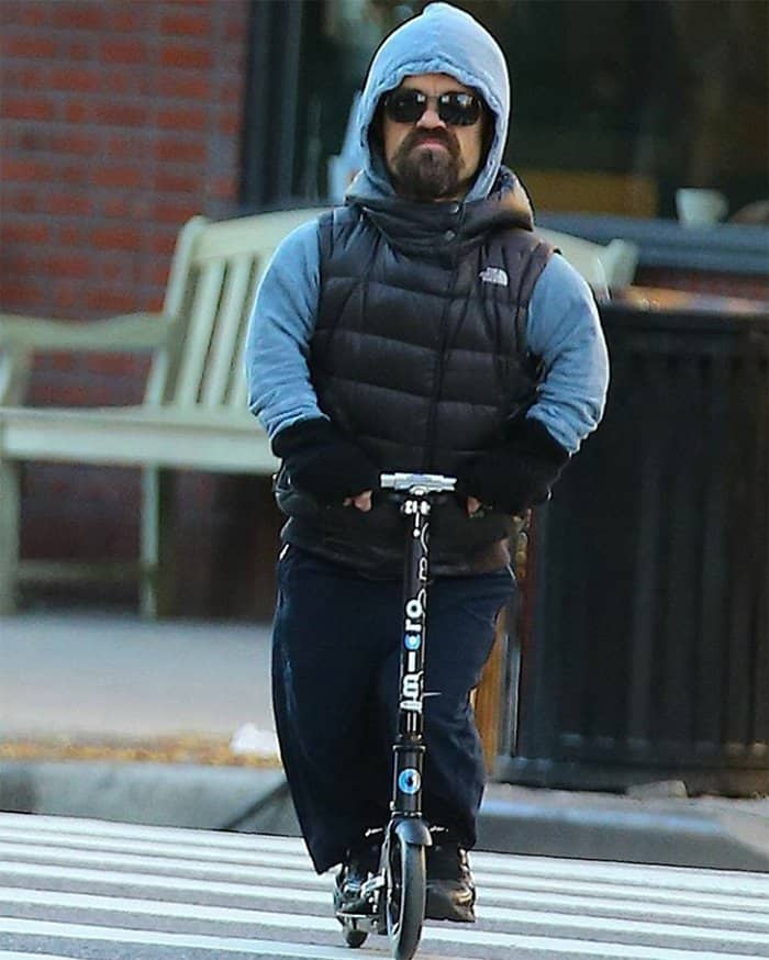 Tyrion Lannister Mercilessly Photoshopped Riding His Scooter!