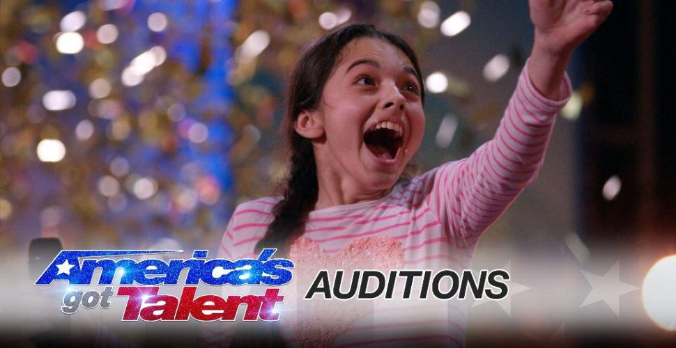 13 Year Old Opera Singer gets Golden Buzzer on AGT
