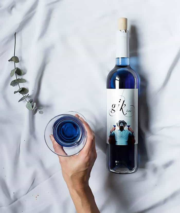 Blue Wine gaining trend among enthusiasts