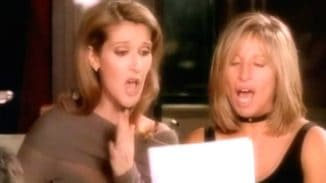 Barbra Streisand and Céline Dion beautiful duet