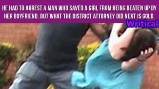 District Attorney pardons man who saved a woman from her tormentor