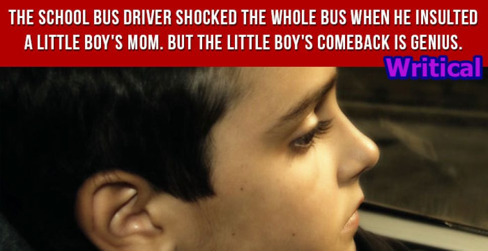 Shocked school bus driver insulted a kid's mother, but didn't expected this answer