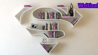 Superhero bookshelves by Burak Dogan