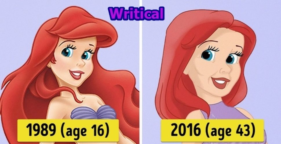 Disney princesses imagined in the year 2016. WOW