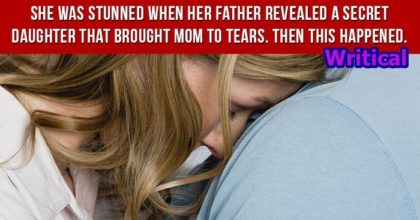 Secret Daughter stunned a Father's Daughter