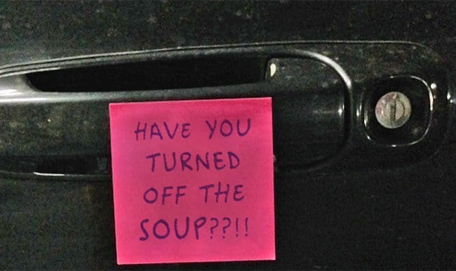 Extremely amusing notes of moms and dads