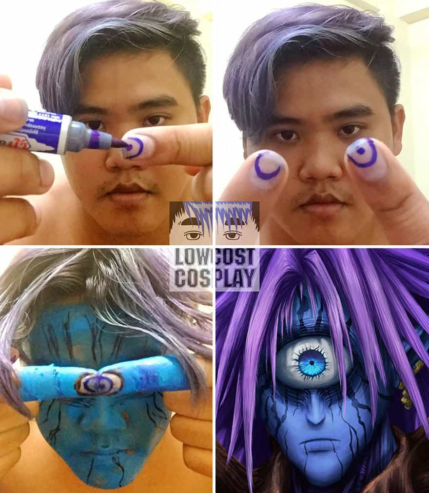 Cosplay Enthusiast makes adorable yet hilarious caricature
