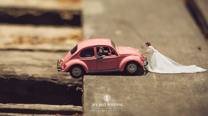 http://writical.com/thai-wedding-photographer-turns-couples-miniature-people/