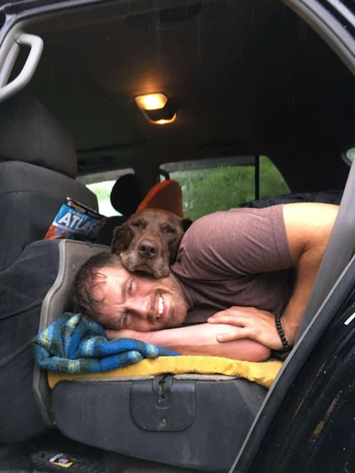 Dog diagnosed with cancer, so the owner opted for an epic road trip
