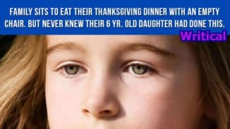 Thanksgiving Dinner for a family turned out to be a surprise for everyone