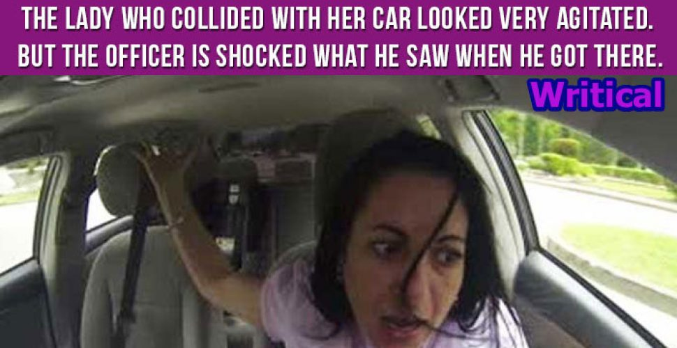 Wife car rear ended by another woman, but what follows is gold