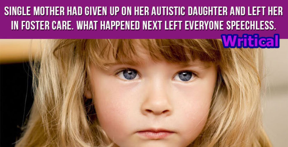 Autistic daughter left everyone in tears when she did this