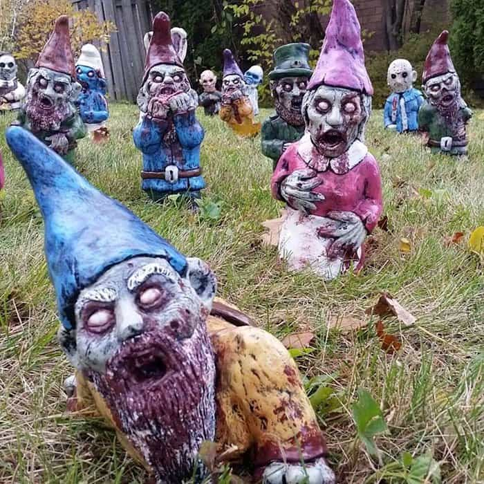 Enliven Creation of Horrifying Zombie Garden Gnomes
