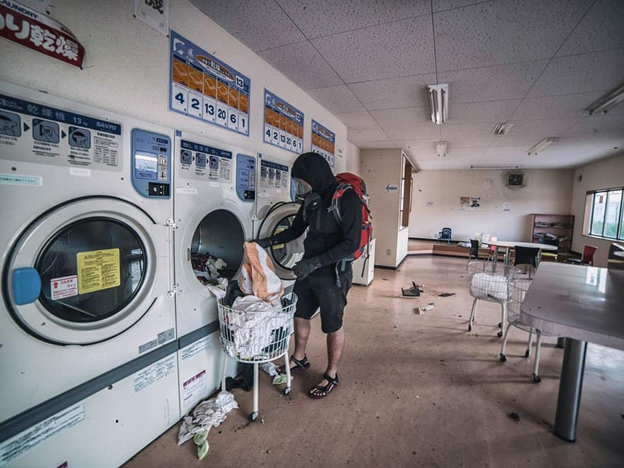 Interesting Fukushima Exclusion zone pictures