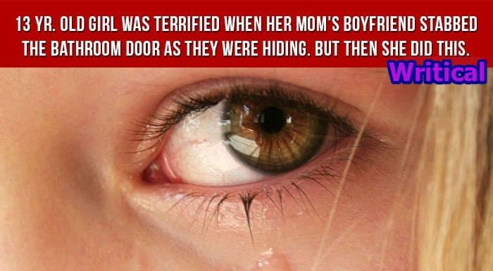 Terrified 13 year old daughter saved her mom's life like this