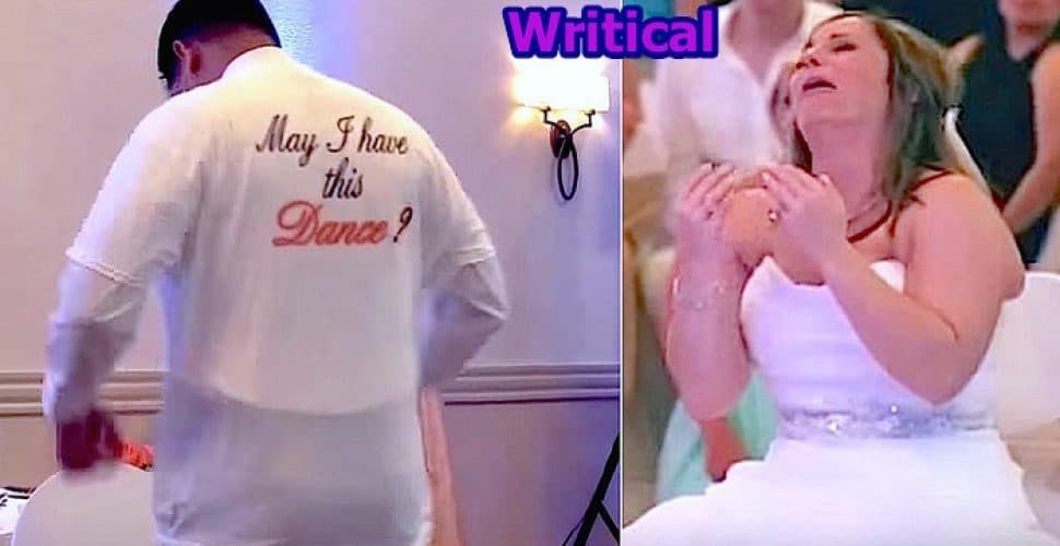 Father Daughter Dance dedicated to Bride's late father