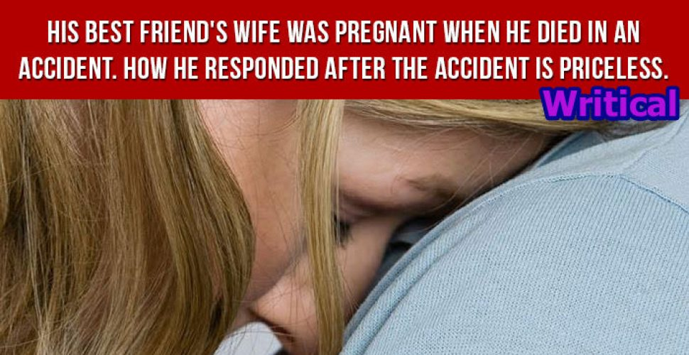 Friend's Reaction to Best Friend Died When His Wife Was Pregnant!