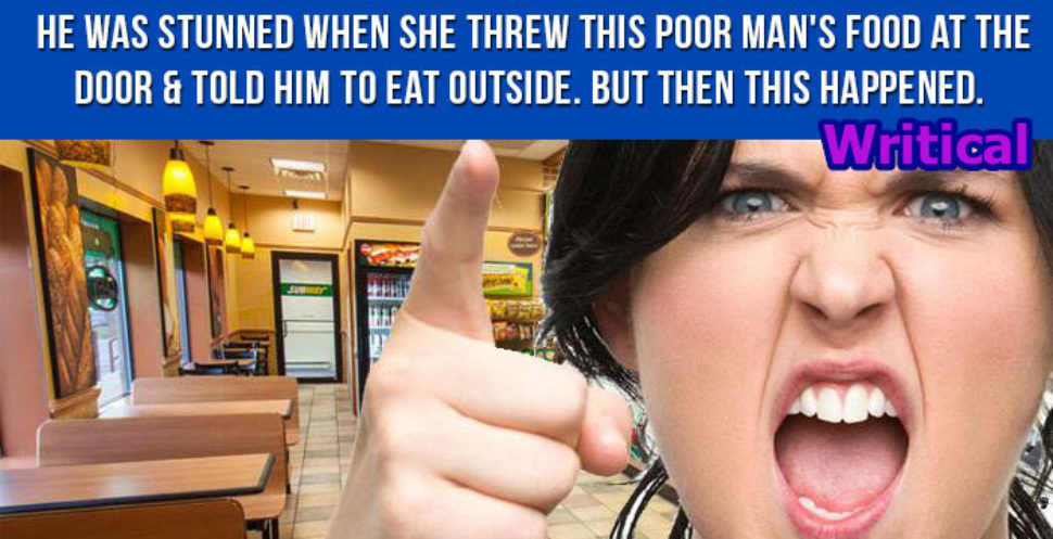 Poor man food thrown away by a crazy woman, but what followed is Gold