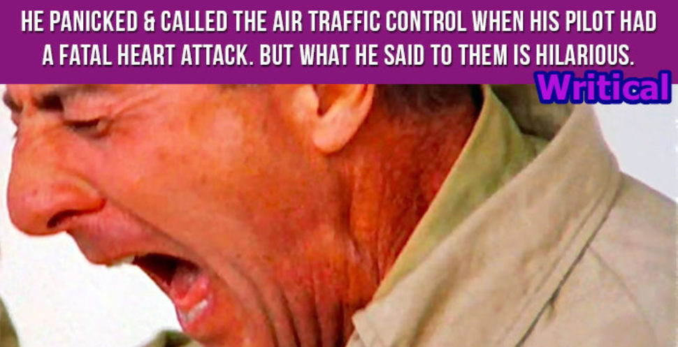 Air Traffic Controller didn't anticipate this answer from passenger. Hilarious