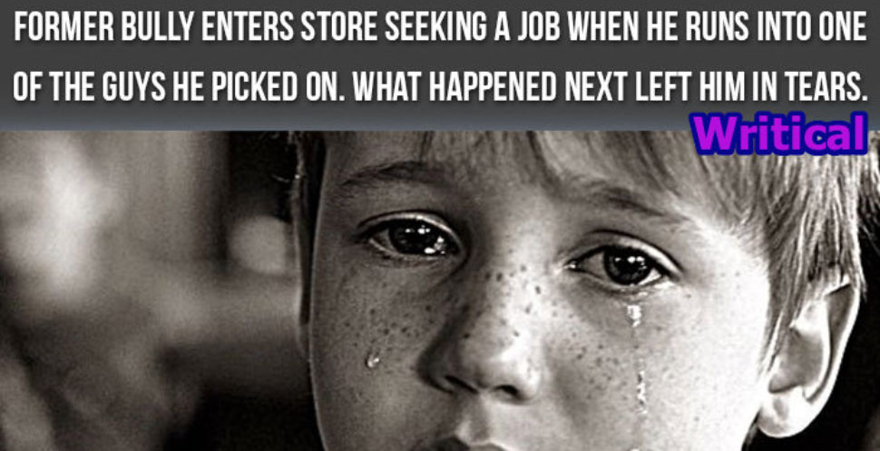 Racist bully enters the store seeking for a job and what happened next will bring tears