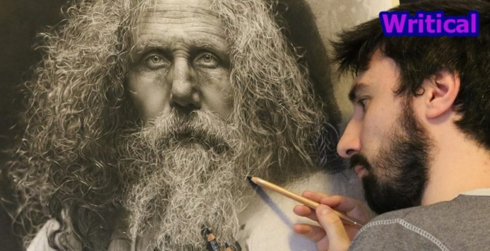 This Hyperrealistic Art drawing needed 100 hours