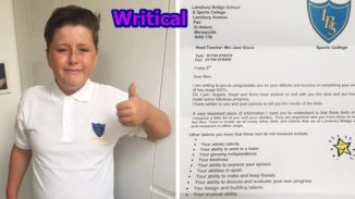 Autistic boy fails exam, but then he received this letter from school