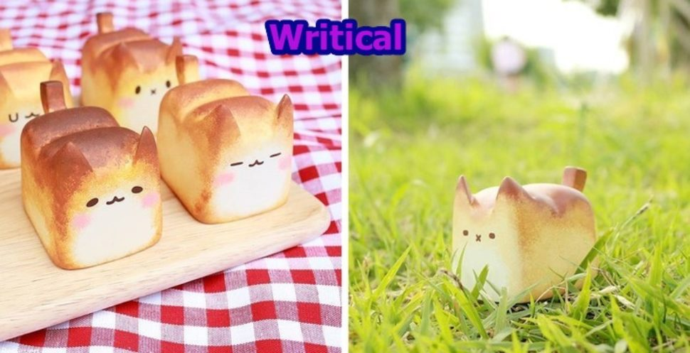 Lovely Baked Breadcat artwork that is beautiful and yummy