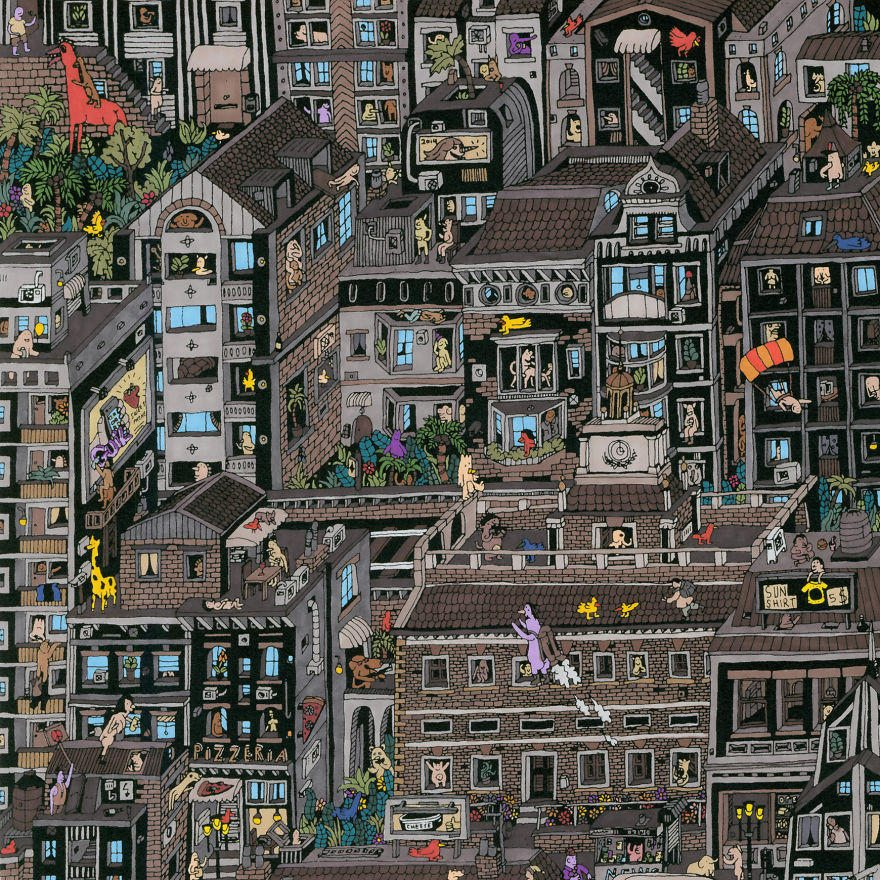 It-Takes-Me-Over-150-Hours-To-Draw-These-Intricate-Cityscape6__880